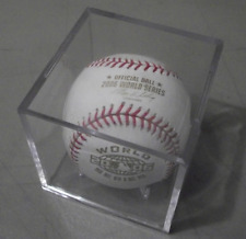 Official 2006 World Series Rawlings Baseball in Display Case Tigers / Cardinals