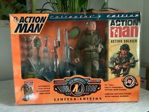 Action Man 30th anniversary collectors edition new,damaged box