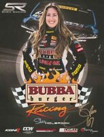 2016 Shea Holbrook signed Bubba Burger Honda Accord TC PWC postcard