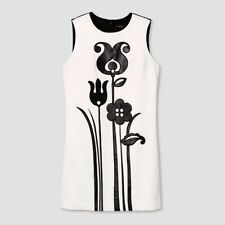 Victoria Beckham for Target Women's Black and White Mod Shift Tulip Dress - M