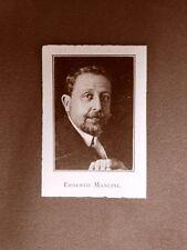 Stampa 1923 Ernesto Mancini e Mimì Mosso Collaboratori Illustrazione Italiana