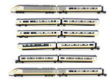 More details for kato 'n' gauge 10-327/328 'eurostar' 8 & 4 car sets