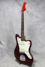 Fender Japan JM66 Old Candy Apple Red Jazzmaster Electric Guitar, L8549