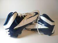 Mens Nike Vapor Talon Elite 3/4 TD Football Cleats sz 16 White Navy 511335-140