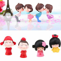 Cute Mini Miniature Fairy Garden Ornament Decor Pot Craft Dollhouse Accessories