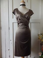 LOVLEY REVIEW BRONZED GOLD CORPORATE OCCASION DRESS 12