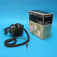 Vintage 1970s Soundesign 335 Stereophonic Hi-Fi Headphones In Box Japan TESTED!