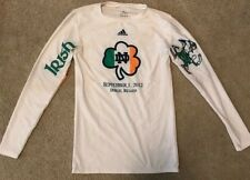 ADIDAS 2012 TEAM ISSUED NOTRE DAME FOOTBALL IRELAND UNDERSHIRT XL