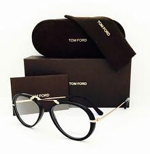 New Tom Ford Eyeglasses TF 5346 001 Black/Gold 53•17•135 With Original Case