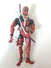Marvel Legends Epic Heroes - Deadpool Action Figure 2012 toy biz + weapons x-men
