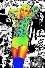 A3 Size - Blondie popular Art wall chart posters