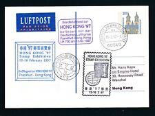 09743) LH tan-LP Frankfurt-hong kong 13.2.97, directamente post ga 200pf R!