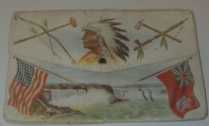 Souvenir PostCard Album 1908 Niagara Falls Fold-out 21 View Nickels & Hutchison