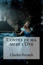 Contes de Ma Mere L'Oye by Charles Perrault (2016, Paperback, Large Type)