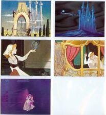 Walt Disney CINDERELLA Trading Card FOIL DUFEX Set of   5