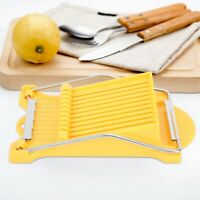 Stainless Steel Luncheon Meat Egg Ham Banana Fruit Cutter Kitchen Slicing Tool