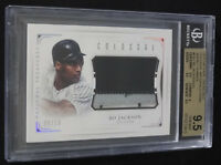 2016 National Treasures Bo Jackson Colossal Patch Jersey Relic 9/10 BGS 9.5