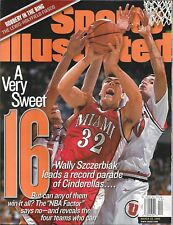 Sports Illustrated 1999 WALLY SZCZERBIAK Miami of Ohio NEWSSTAND Mint NIB