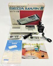 SEGA Mark III Video Game Console NTSC-J JAPANESE BOXED TESTED