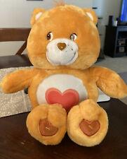 "2002 CareBears Tenderheart Bear Talks w/ Light Up Tummy 14"" care-a-lot friends"