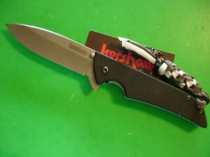 "NTSA KERSHAW USA ""SKYLINE"" 4 1/4"" CLOSED LINER LOCK POCKET KNIFE #1760"