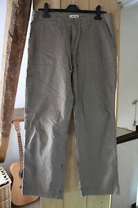 Cherokee Ladies Khaki Cotton Summer Trousers Size 12