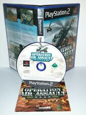 OPERATION AIR ASSAULT - Ps2 Playstation Play Station 2 Gioco Game
