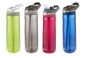 New CONTIGO Ashland Autospout Drink Bottle 709ml Leak Proof Genuine Sports Save