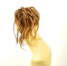 postiche chouchou peruk cheveux châtain cuivré méché blond clair ref: 22/6bt27b