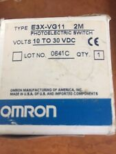 Omron  E3X-VG11  2M  Sensor - NEW