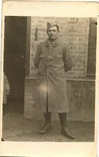 Jeune homme soldat militaire -  photo ancienne