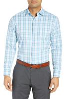 Peter Millar Crown Sport 'Summer Comfort L/S' Men's Shirt Plaid - Size M, L $135