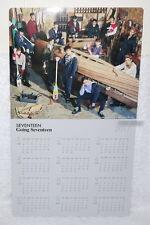 SEVENTEEN Going Seventeen Make A Wish Taiwan Promo 2017-Year Calendar Poster