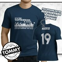 Spurs Champions League Final T-Shirt, Madrid Kane COYS Its The Tottenham Boys