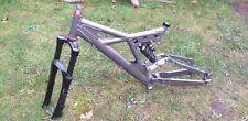 Downhill bike frame