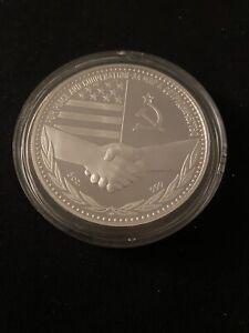 M2 1987 RUSSIA 5 OZ SILVER COIN