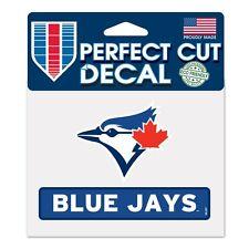 "Toronto Blue Jays 4""x5"" Perfect Cut Decal [NEW] MLB Auto Car Emblem Sticker"