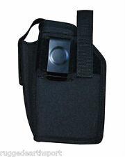 OWB Belt Clip Holster: Hand Gun Pistol w/ Laser and or Flashlight SZ 24 LH or RH