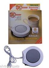 Portable Electronic Heating Plate Tea Coffee Warmer