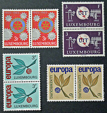 LUXEMBOURG timbres/Stamps Yvert et Tellier n°668 à 671 (x2) n** (cyn10)