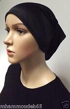 Underscarf Cap Hijab ,under shwal , Black color .