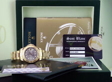 ROLEX - 35mm 18kt Gold Mid-Size YachtMaster Slate Index Dial - 68628 SANT BLANC