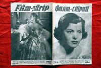 JOAN RICE ON COVER FRANCOISE CHRISTOPHE 1953 EXYU MAGAZ