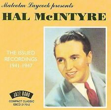 The Issued Recordings: 1941-1947 by Hal McIntyre (CD, Oct-2001, Flyright (UK))