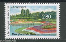 FRANCE 1994, timbre 2909, FLEURS, FLOWERS, PARC FLORAL, SALON DU TIMBRE, neuf**