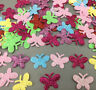 400X Sequins small butterfly Felt Appliques Mixed Colors Cardmaking Crafts 24mm