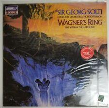 Sir George Solti Wagners Ring Vienna Philharmonic Vinyl Lp LDR 71112