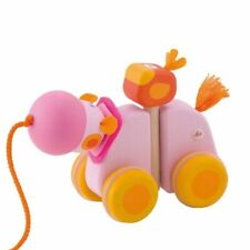 Sevi Toy To Trainer Hippopotamus Wooden With Movement, To Starting Of 12 Month
