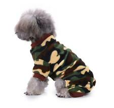 Small Dogs Boy Girl Apparel Pajamas Pet Dog Clothes Winter Warm Sweater Shirt