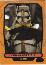 STAR WARS GALACTIC FILES SERIES 2 BLUE PARALLEL #455 COMMANDER BLY 213/350